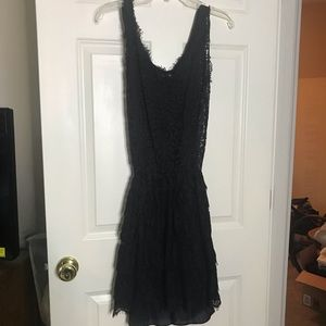Cynthia Rowley Black lace dress